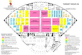 San Jose Convention Center Floor Plan 9to5 Technews February 2017