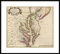 map of maryland to print maryland map framed prints america