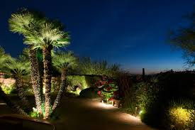 Landscape Tree Lights Commercial Landscaping With Palms This Gorgeous Landscape