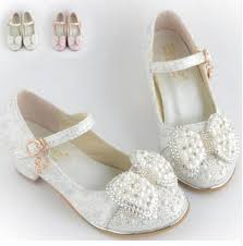 wedding shoes for girl 2017children princess sandals kids wedding shoes high heels