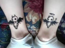 flying angel baby tattoo design tattooshunter com