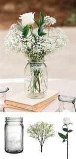 jar ideas for weddings best 25 jar flowers ideas on flowers