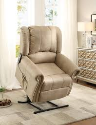 homelegance iola power lift chair polyester taupe 8437 1lt