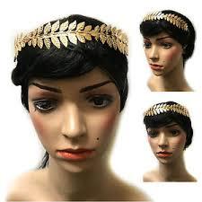 goddess headband laurel leaf headband grecian headdress hair crown festival