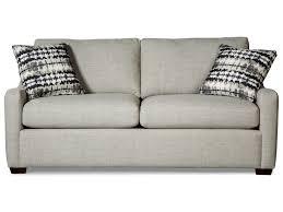 sleeper sofa with memory foam mattress craftmaster 7643 casual small scale sleeper sofa with memory foam