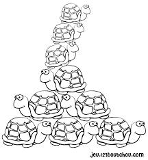 Nos jeux de coloriage Tortue à imprimer gratuit  Page 6 of 7