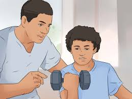 3 ways to build muscle for kids wikihow