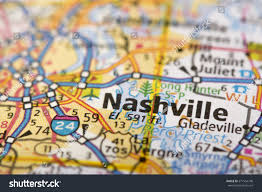 Road Map United States by Closeup Nashville Tennessee On Road Map Stock Photo 571554748