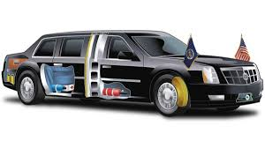 Car Dimensions In Feet Inside The President U0027s Armored Limo Autoweek