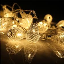 christmas garland battery operated led lights 1m 2m 3m 4m battery christmas garland led string christmas lights