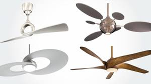 Designer Ceiling Fans With Lights Modern Ceiling Fan With Light And Remote Black Fans Plan