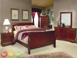 julie bedroom set maple light cherry finish furniture creative of