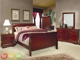 Solid Maple Bedroom Set Julie Bedroom Set Maple Light Cherry Finish Furniture Creative Of