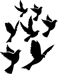 best 25 flying bird silhouette ideas on flying birds