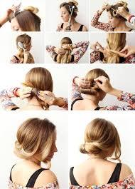 Frisuren Selber Machen Zum Ausgehen by Einfache Alltags Frisuren Selber Machen Trendige Kurzhaarfrisuren