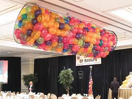 balloon net drop balloon net drop over dance floor party themes