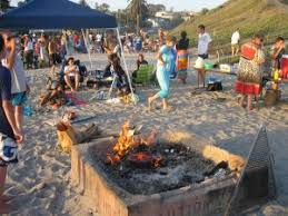 Beach Fire Pit by Faith Community Church Carlsbad Church Rancho Carillo Church