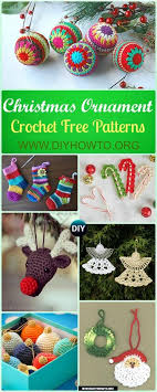 diy crochet ornament free patterns crochet
