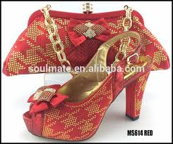 wedding shoes and bags 30 wholesale new arrival color italian shoe bag set