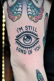 small eye on arm tattooshunt com