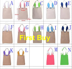 easter buckets wholesale 50pcs lot free shipping mixed colors easter basket wholesale burlap