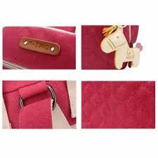 Jual Mummy kelebihan beli sokano pokoko lil 3ways canvas mummy bag pink