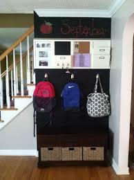 Barn Organization Ideas Entryway Backpacks Organization Chalkboard Paint Back To