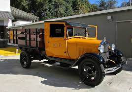 Vintage Ford Trucks Pictures - tallahassee daily photo restored 1929 model aa ford truck