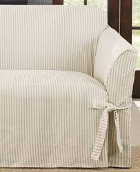 Macy S Sofa Covers by Sure Fit Ticking Stripe Sofa Slipcover Slipcovers For The Home