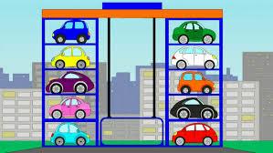 Car Park by Cars Cartoon Car Park Cartoons For Children Youtube