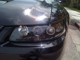 2002 ford mustang headlights question about the performance of halo projector headlights