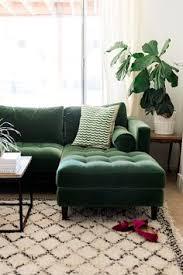 Emerald Green Velvet Sofa by Hendricks Navy Velvet Right Arm Chaise Sofa Chaise Sofa