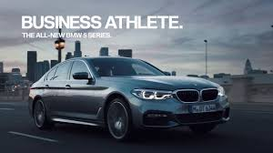 bmw comercial 2018 5 series bmw commercial business athlete eastwood