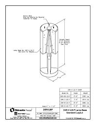 standard light bulb base size 24 dia light pole base oldcastle precast