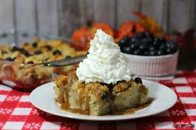 blueberry bread pudding recipe
