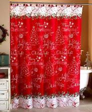 holiday shower curtains ebay