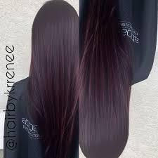 25 purple tinted hair ideas dark purple hair