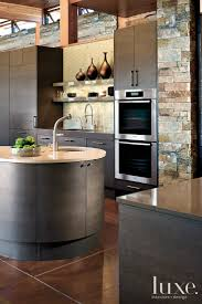 design kitchen design ideas with stone walls cool black solid