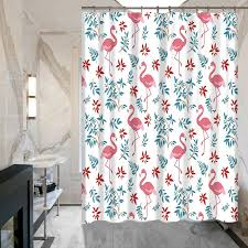 Flamingo Shower Curtains Flamingo Shower Curtain Hooks Part 25 New Creative European