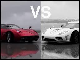 koenigsegg huayra price forza motorsport 6 koenigsegg agera r vs pagani huayra youtube