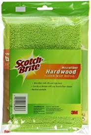 amazon com scotch brite microfiber hardwood floor mop 1 pack