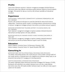 Sample Consulting Resume by Consultant Resume U2013 8 Free Samples Examples U0026 Format