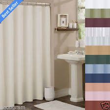Machine Washable Shower Curtain Liner Hotel Shower Curtain Ebay