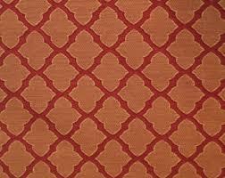 Red Drapery Fabric Drapery Fabric Etsy