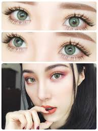 buy freshlook colorblends gemstone green colored contacts eyecandys