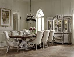 trestle dining table set orleans ii white wash extendable trestle dining room set