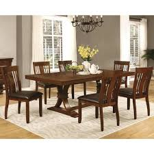 Mission Style Dining Room Oxford Transitional Mission Style Dining Set Free Shipping Today