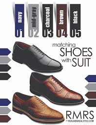 matching dress shoes and suits how to match a shoe with any suit