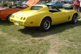 1976 corvette yellow 1976 chevrolet corvette c3 image