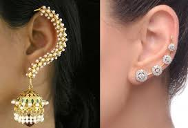 earrings that go up the ear trendy alert how to wear ear cuffs like a